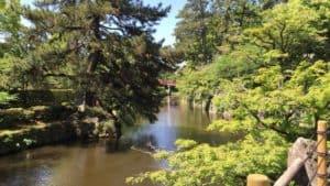 岡崎城の水堀