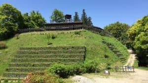 真弓山城の本丸
