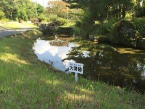 田中城下屋敷の庭園