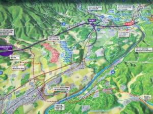 長篠の戦いでの部隊の動き