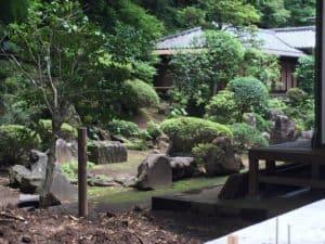 早雲寺の庭園