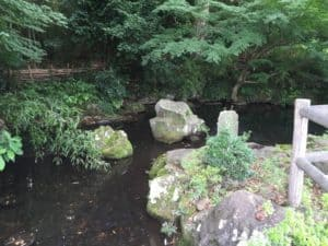 北条幻庵屋敷跡の池