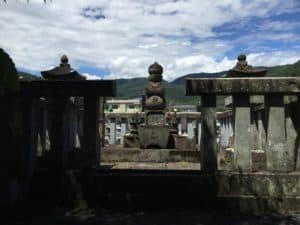 加藤光泰の墓