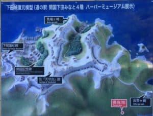 下田城の図