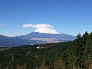 山中城からの望む富士山