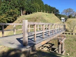 山中城の掛橋