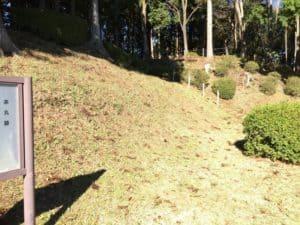 山中城の本丸