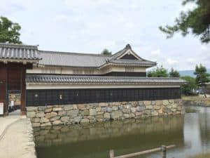 松本城・黒門(一の門)
