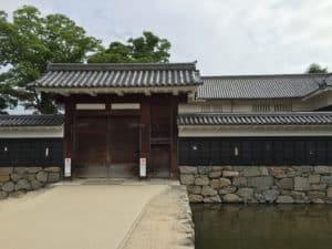 松本城・黒門(二の門)