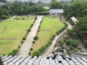 松本城の本丸御殿跡