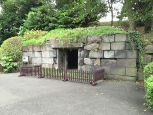 江戸城の石室