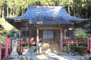 冨賀寺の本堂