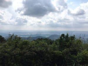 三岳城からの展望