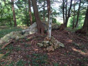 井伊谷城の本丸