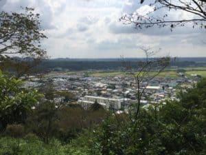 井伊谷城からの展望