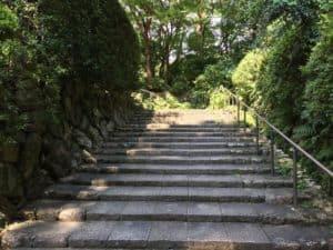 龍潭寺の参道