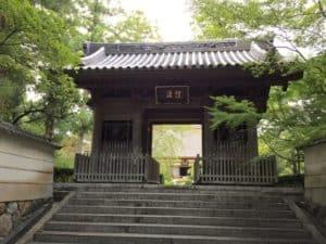 龍潭寺の仁王門