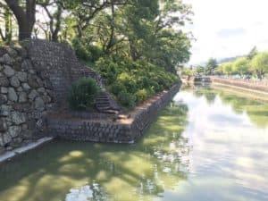 駿府城の中堀
