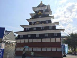 駿府城の天守閣