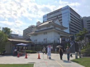 駿府城の二ノ丸坤櫓復元