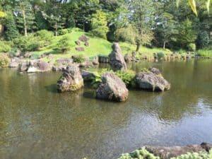 駿府城の庭園