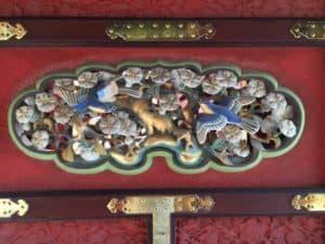 久能山東照宮の彫刻