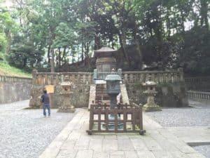 徳川家康が埋葬された墓