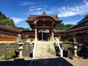 永林寺の山門