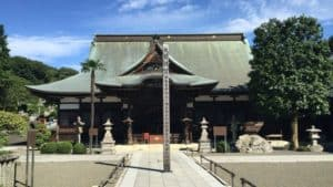永林寺の本堂