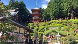永林寺の三重塔