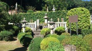 永林寺にある大石家の墓