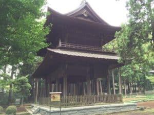 方園寺の山門