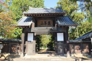 大泉寺の総門