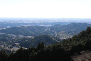 滝沢展望台からの眺め