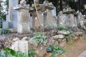 龍潭寺・小野家墓所