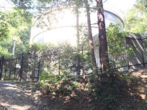 初沢城の配水所