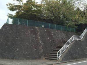 松木屋敷跡