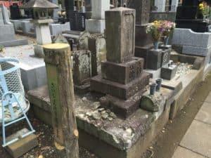 高林吉利の墓