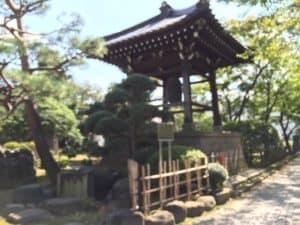 豪徳寺の梵鐘