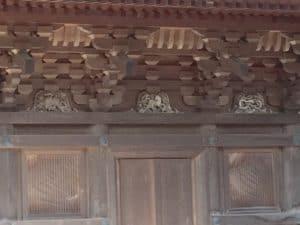 豪徳寺の猫の装飾