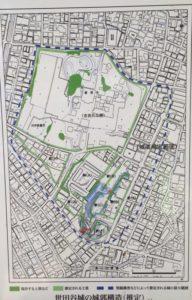 世田谷城の城域