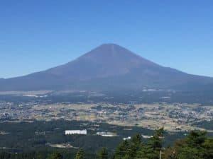 足柄峠から見える富士山