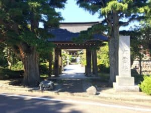 深沢城の大手門