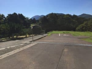 河村城の駐車場