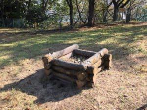 成瀬城の井戸跡