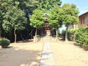 金比羅社(関戸城)