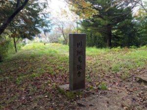勝山城の見張り台