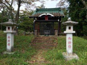 勝山城の東照大権現