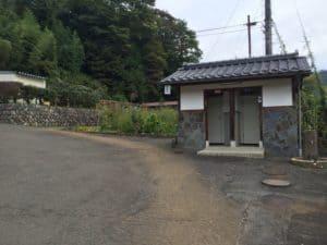 勝山城の駐車場