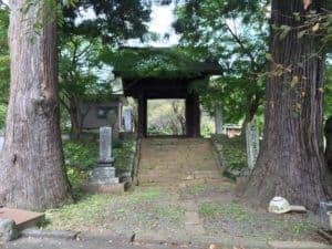 長生寺の中雀門